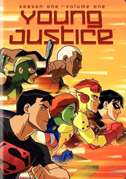 мультфильм юная лига справедливости 1 сезон смотреть